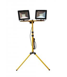2 x Naświetlacz LED na statywie 1,8m (Tripod)