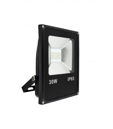 Naświetlacz LED 30W SLIM SMD Czarny Wodoodporny