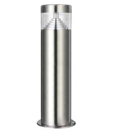 Lampa ogrodowa inox LED POLUX Bretania2 GLM0007PSH30SS-15DW niska satynowa