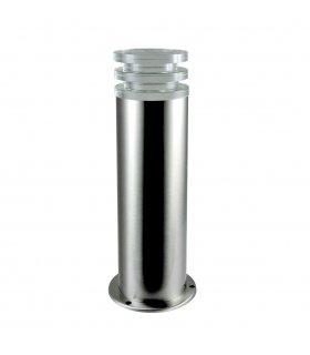 Lampa ogrodowa inox LED POLUX CRYSTAL2 GLM00052PSH36SS-30DW niska satynowa