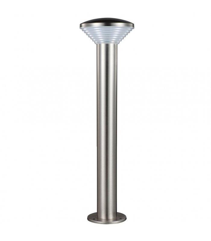 Lampa ogrodowa inox LED POLUX PIRAMIDA GLM0011PSH-84SS 30DW wysoka satynowa