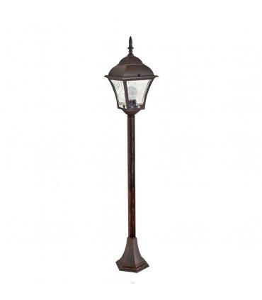 Lampa ogrodowa aluminiowa POLUX PARIS2 AL832MWWAW2 2in1 stojąca 1m wiśnia żarówką led w zestawie