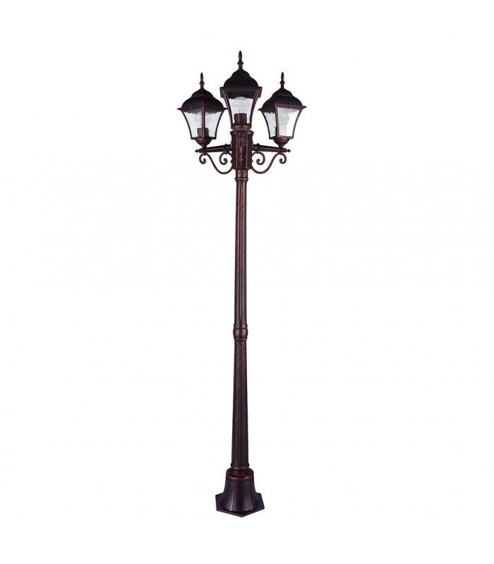 Lampa Ogrodowa 175cm Polux Paris2 Al932lg40aw23 Amerykanska Wisnia