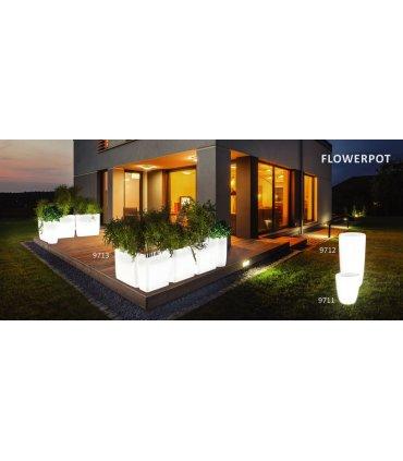 FLOWERPOT M podświetlana donica