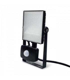 Naświetlacz LED 10W SMD FLAT z czujnikiem zmierzchu i ruchu Wodoodporny