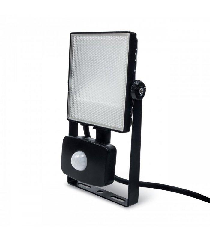 Naświetlacz LED 10W SMD ExtraFLAT z czujnikiem zmierzchu i ruchu Wodoodporny