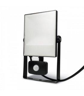 Naświetlacz LED 30W SMD FLAT z czujnikiem zmierzchu i ruchu Wodoodporny