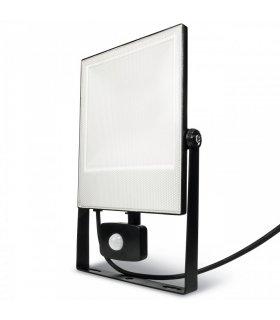 Naświetlacz LED 50W SMD FLAT z czujnikiem zmierzchu i ruchu Wodoodporny