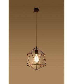 Lampa wisząca Gaspare miedziana SL.0289  Sollux