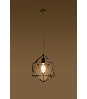Lampa wisząca Gaspare czarna SL.0291 Sollux