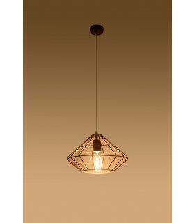Lampa wisząca Umberto miedziana SL.0292 Sollux