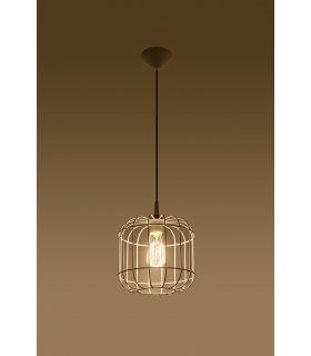 Lampa wisząca Celta biała SL.0295  Sollux