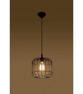Lampa wisząca Celta czarna SL.0296 Sollux