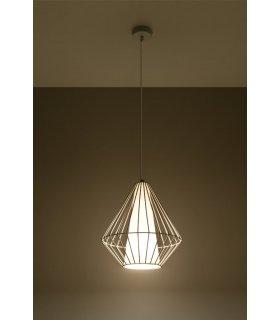 Lampa wisząca Demi biała SL.0297  Sollux