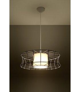 Lampa wisząca Salerno biała SL.0299 Sollux