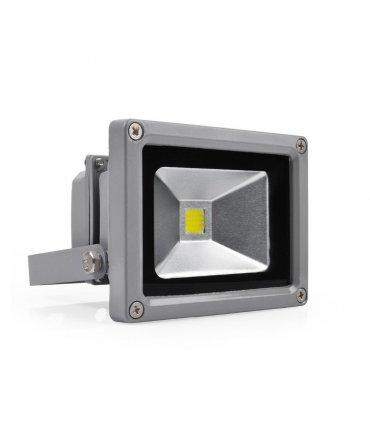 Naświetlacz LED 10W Szary Wodoodporny