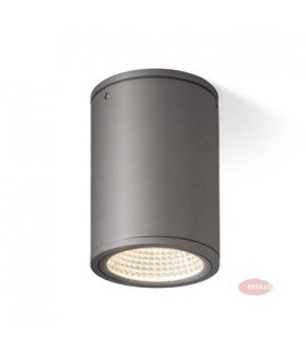 MIZZI sufitowa antracyt LED 12W IP54