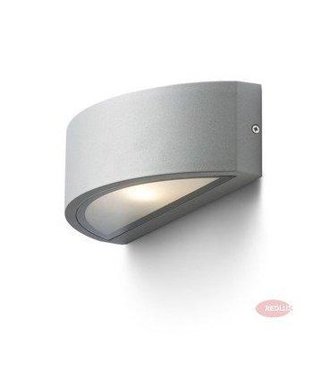 LESA ścienna srebrnoszara E27 IP54 REDLUX