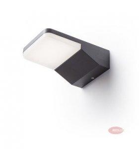 VIRGO ścienna antracyt LED 9W IP65 REDLUX