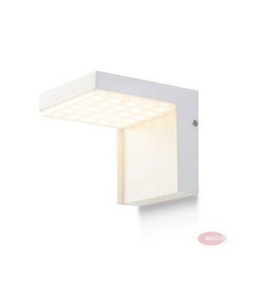 VECINO ścienna srebrnoszara LED 5W IP54 REDLUX