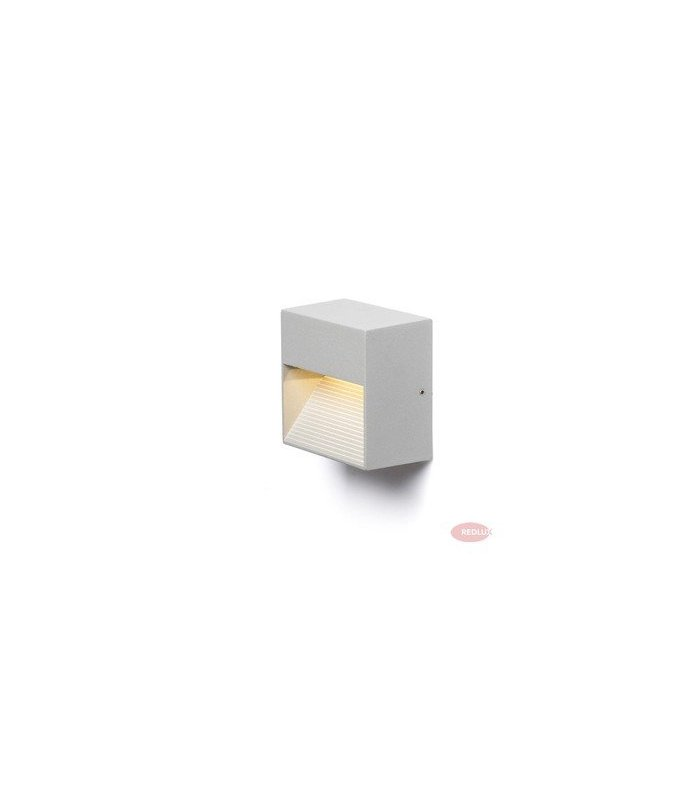 ITAKA ścienna srebrnoszara LED 2W IP54 REDLUX