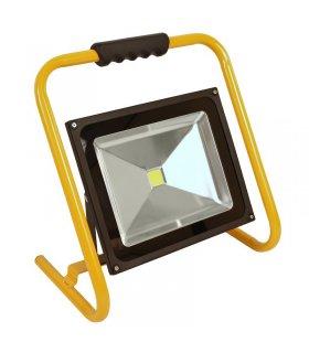 Naświetlacz LED 50W COB przenośny z uchwytem