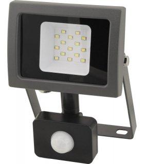Naświetlacz LED 10W SMD OXY z czujnikiem zmierzchu i ruchu