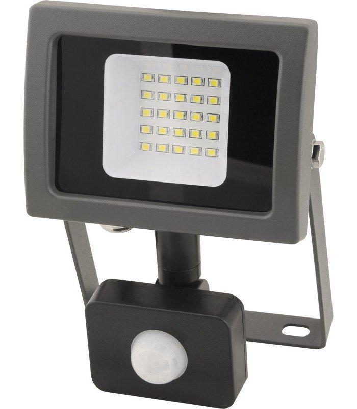 Naświetlacz LED 20W SMD OXY z czujnikiem zmierzchu i ruchu Wodoodporny