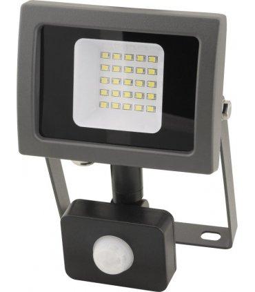 Naświetlacz LED 20W OXY z czujnikiem zmierzchu i ruchu Wodooporny