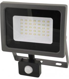 Naświetlacz LED 30W SMD OXY z czujnikiem zmierzchu i ruchu
