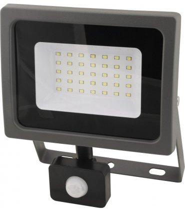 Naświetlacz LED 30W OXY z czujnikiem zmierzchu i ruchu Wodoodporny