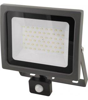 Naświetlacz LED 50W SMD OXY z czujnikiem zmierzchu i ruchu Wodoodporny