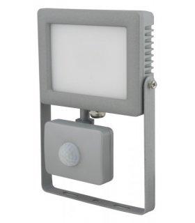 Naświetlacz LED 10W FLAT z czujnikiem zmierzchu i ruchu Wodoodporny