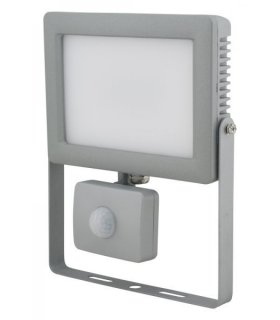 Naświetlacz LED 20W FLAT z czujnikiem zmierzchu i ruchu Wodoodporny