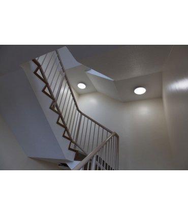 Plafoniera LED BARI z czujnikiem ruchu okrągła 18W 1440lm IP54