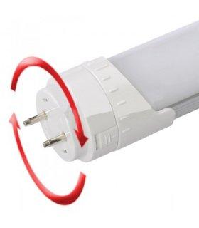Świetlówka LED 60cm 9W naturalna dwustronnie zasilana