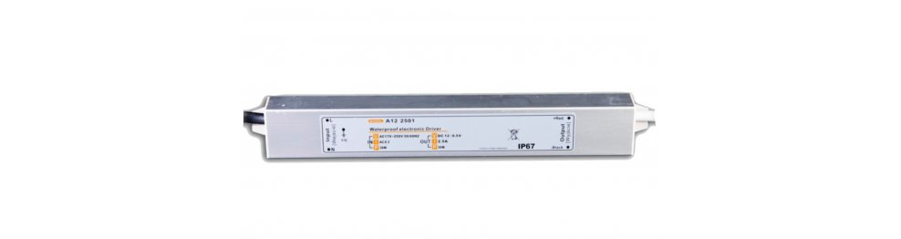 Zasilacze LED hermetyczne IP67