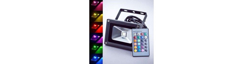 RGB - zmieniające kolory