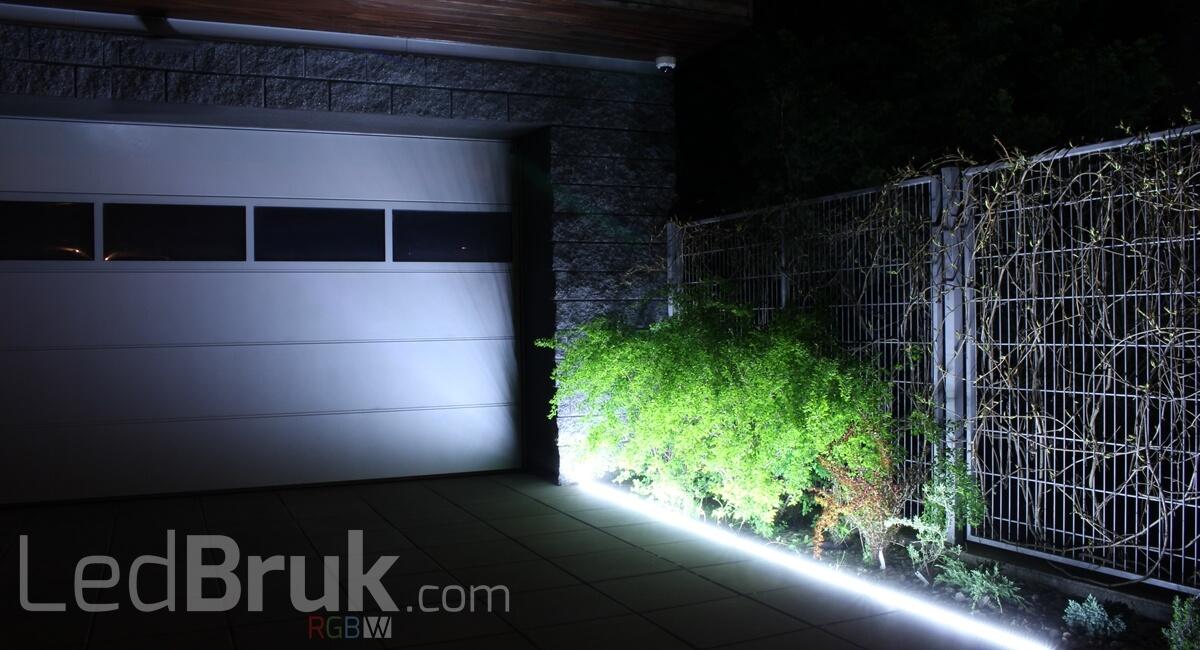 Przykładowa realizacja z zastosowania opraw najazdowych Line LED w projektach naszych klientów