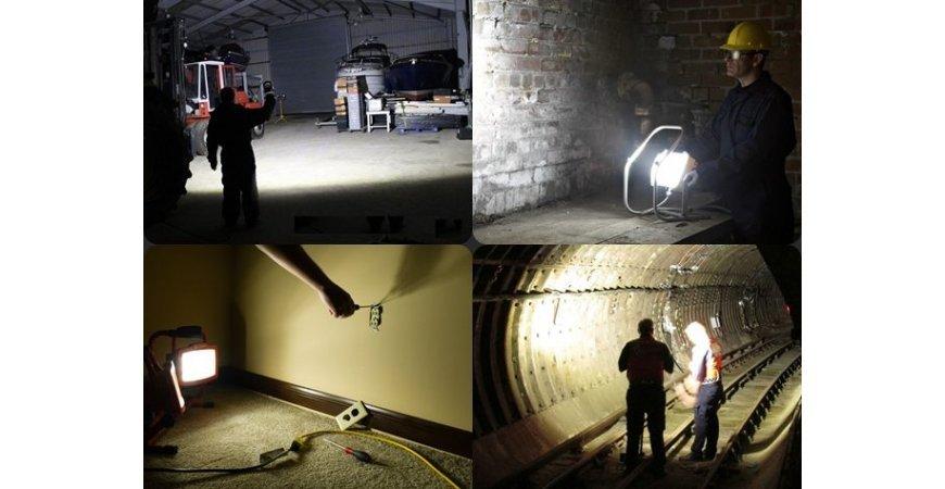 Oświetlenie robocze do prac remontowych i warsztatowych